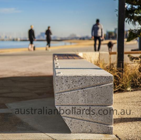 street bench bollard